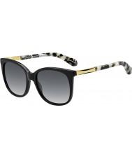 Kate Spade New York Donna Julieanna-s anw F8 occhiali da sole oro nero