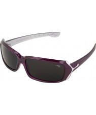 Cebe Rossetto (età 9 plus) di cristallo viola 2000 occhiali da sole grigio