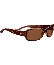 Serengeti Chloe lucido bolla di tartaruga polarizzato driver occhiali da sole