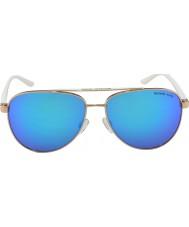 Michael Kors Mk5007 59 sportivo rosa oro bianco 104525 occhiali da sole