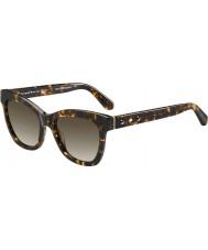 Kate Spade New York Donna Krissy-S Z61 occhiali da sole ha avana