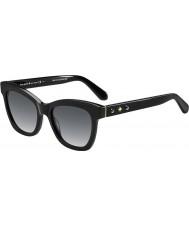 Kate Spade New York Donna Krissy-s 807 occhiali da sole neri F8