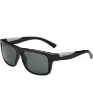 Bolle Clint Black lucido polarizzato TNS occhiali da sole