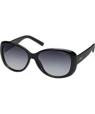 Polaroid lucidi occhiali da sole polarizzati neri Pld4014-s D28 WJ