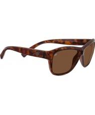 Serengeti Gabriella lucido tartaruga rosso polarizzato driver occhiali da sole