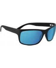 Serengeti Pistoia raso nero polarizzato 555nm blu occhiali da sole