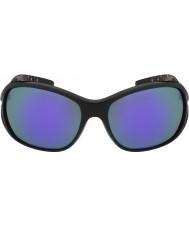 Bolle occhiali da sole blu-violetto nero lucido Solden