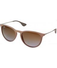 RayBan Rb4171 54 erika gomma scura sabbia 600068 occhiali da sole