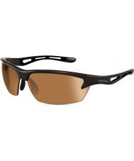 Bolle Bolt lucidi occhiali da sole v3 golf modulatore nero