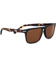 Serengeti Carlo muschio nero di rovere polarizzato driver occhiali da sole