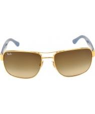 RayBan Rb3530 58 Highstreet oro 001-13 gli occhiali da sole di pendenza