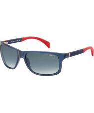Tommy Hilfiger Th 1257-s 4nk jj occhiali da sole rossi blu