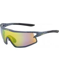 Bolle B-rock opaco fumo modulatore occhiali da sole marrone smeraldo