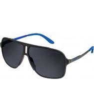 Carrera Mens carrera 122-s ragazzo ir opachi occhiali da sole neri