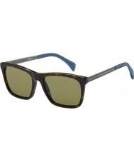 Tommy Hilfiger Mens ° 1435-s 0EX occhiali da sole di rutenio avana scuro A6