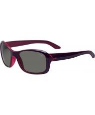 Cebe Idyll viola occhiali da sole di cristallo rosa