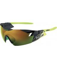 Bolle 6 ° Senso di fumo opaco verde smeraldo occhiali da sole marroni