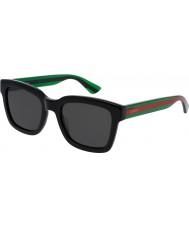 Gucci Mens gg0001s occhiali da sole verde nero